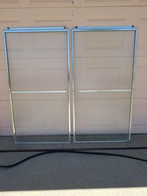 Sliding shower doors for tub for Sale in Denver, CO