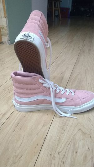 Womens size 8.5 pink vans for Sale in Olympia, WA