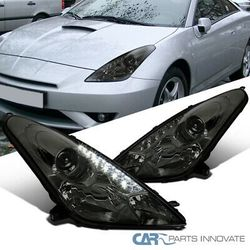 00-05 Toyota Celica Smoke SMD LED DRL Projector Headlights Tinted Head Lamps for Sale in Whittier,  CA