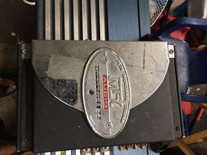 Amp speaker car audio for Sale in Elyria, OH