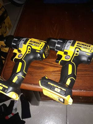 2 brushless drills xr2 nuevos for Sale in Pasadena, TX