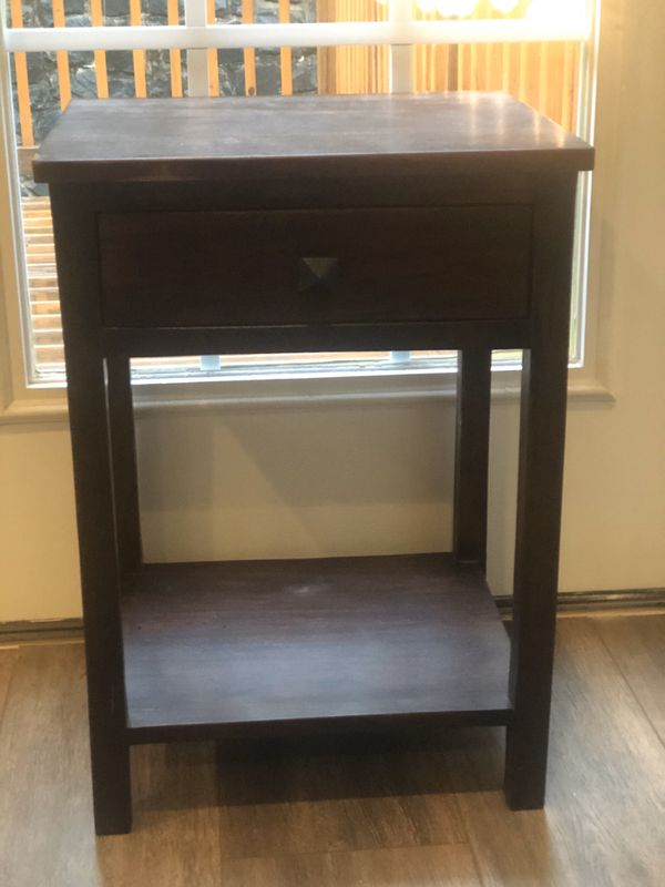 Small End Table with Drawer
