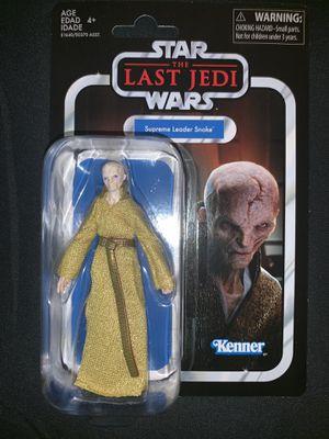 Star Wars The Last Jedi Snoke Action Figure Retro Packaging for Sale in Pegram, TN