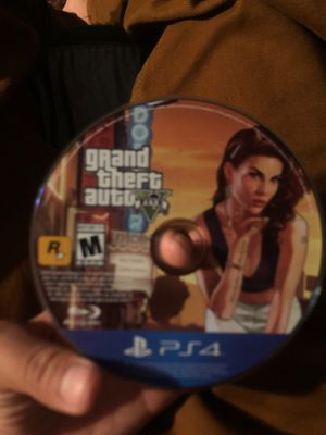 GTA FIVE For ps4 for Sale in Phillips Ranch, CA