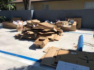 Free Cardboard boxes!! for Sale in Miami, FL