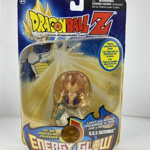 "IRWIN TOY DragonBall Z DBZ Energy Glow SS3 Gotenks new in package 3.75"" rare for Sale in Peoria, IL"
