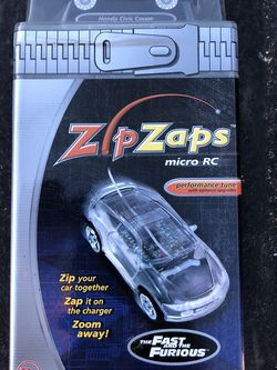 The Fast And The Furious Honda Civic Zip Zap Remote Controlled Car for Sale in Whitney,  TX