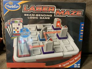 Thinkfun laser maze - sealed box for Sale in Placentia, CA