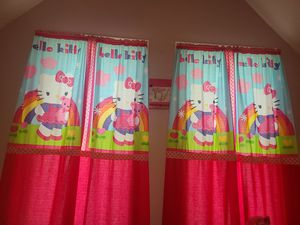 Hello kitty nursery crib bedding set for Sale in Brockton, MA