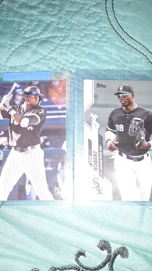 2020 topps complete set Luis Robert image variation with series 2 base send offers for Sale in Norwalk, CA