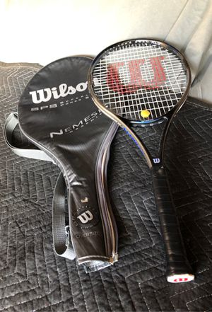 Wilson nemesis graphite tennis racket for Sale in Corona, CA