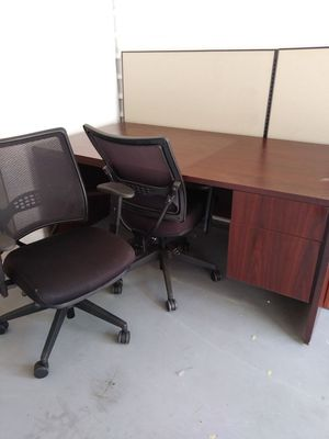 Office furniture and wall panels for Sale in Irving, TX