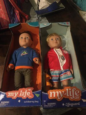 2 Boy my life dolls for Sale in Baytown, TX