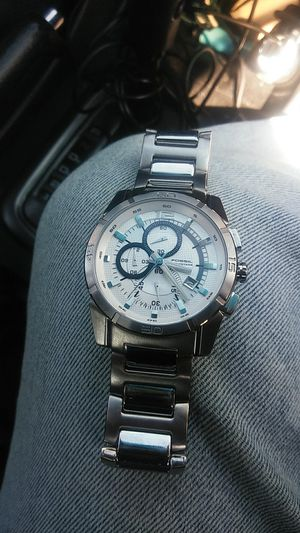 All stainless steel Fossil watch for Sale in Arlington, VA