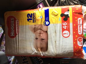 Size 1 diapers for Sale in Buena Park, CA