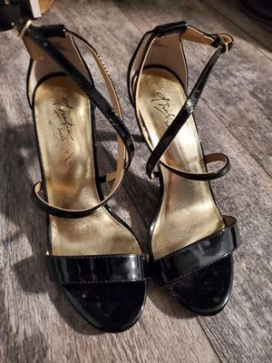 Thalia Sodi black dress/party open toe heels for Sale in Hanover Park, IL