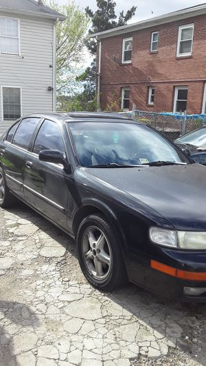 1998 Black Nissan Maxima ( Everything Original) literally Nothing Wrong With The Car💯 title and all included for Sale in Washington, DC