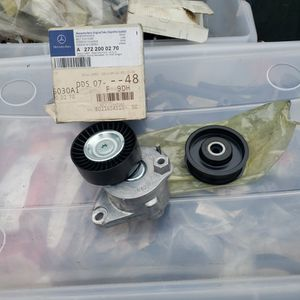 Mercedes Benz Serpentine Belt Tensioner And Idler Pulley for Sale in Madera, CA