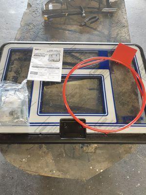 Lifetime 52 inch glass backboard hoop new for Sale in Aliquippa, PA