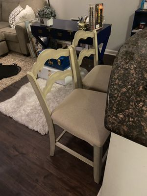 Two Barstool Seats - Pretty and Unique for Sale in Arcola, PA