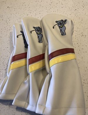 Brand New - Grateful Dead Golf Club Covers Genuine Leather for Sale in Denver, CO