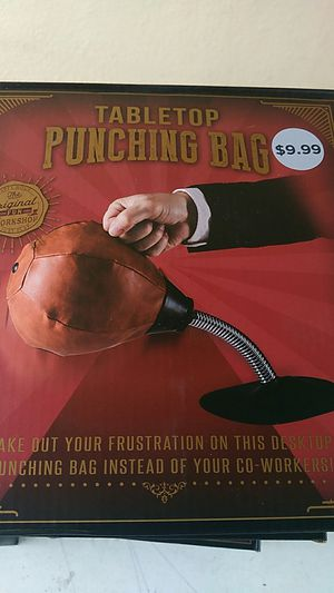 Brand new Table top punching bag for Sale in Monterey Park, CA