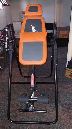 Inversion table for back therapy exercise fitness for Sale in Wethersfield, CT