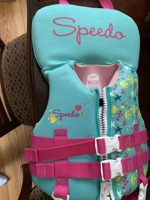 Speedo infant life vest for Sale in Arlington, VA