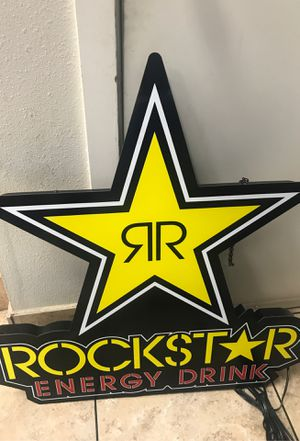 New rockstar neon LED $50 3ft tall for Sale in Portland, OR