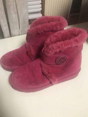 Michael Kors fuchsia boots for Sale in Boston, MA