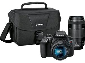 New! Canon EOS Rebel T6 DSLR w/2 Lens Kit and Shoulder Bag! for Sale in Anaheim, CA