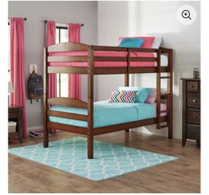 Twin over twin bunk bed for Sale in Coconut Creek, FL