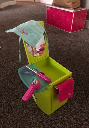 American Girl Doll: Rolling Stylist Cabinet for Sale in Austin, TX