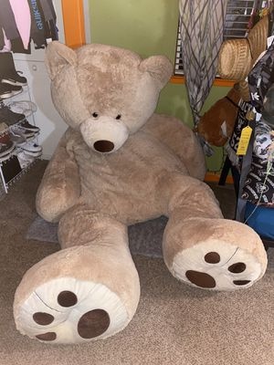 Giant 8 foot teddy bear for Sale in Fresno, CA