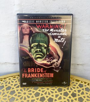 The Bride of Frankenstein - Classic Monster Collection DVD - Halloween Movie for Sale in South Pasadena, CA