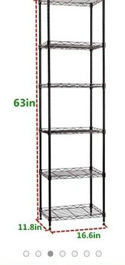 6 tier Shelving Steel Storage Rack for Sale in Corona, NY