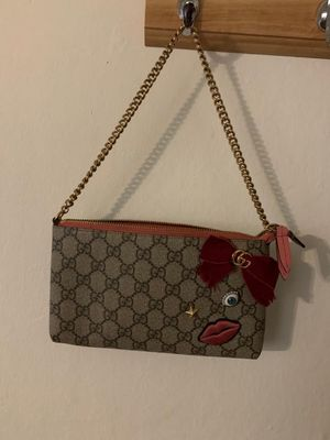 Bag clutch Gucci GG circus embroidered supreme clutch for Sale in Campbell, CA