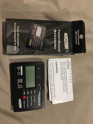 Tuner/ Sound Metronome (Rockstar) for Sale in Boca Raton, FL