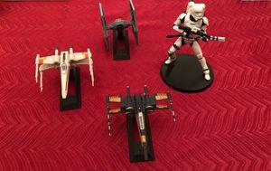 Star Wars ships figures models toys for Sale in Alameda, CA