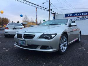 2008 bmw 650i 110 k very clean navigation heated seats sunroof runs and drive very well for Sale in Portland, OR