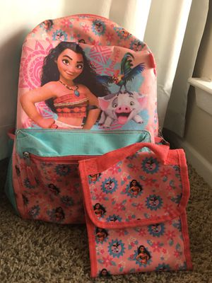 Moana Girl Backpack for Sale in Benbrook, TX