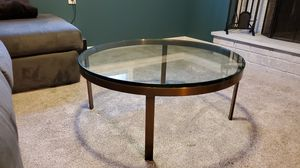 Free Glass Top Coffee Table for Sale in Newtown, CT