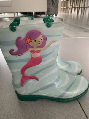 Girls kids Rain Boots size 11 for Sale in West Covina, CA