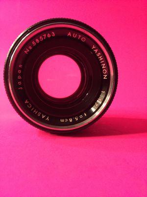 Yashinon 5.8cm 1.7 lens for Sale in Hialeah, FL