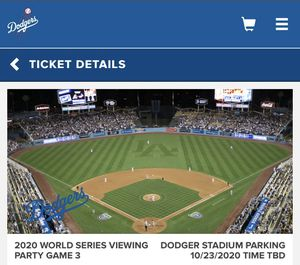 World series viewing for Sale in Chino, CA
