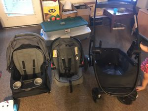 Stroller+car seat +toddler seat (3in one) for Sale in Portland, OR
