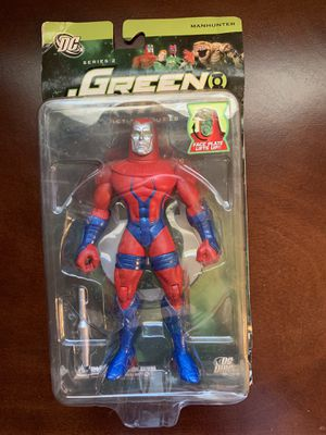Manhunter green lantern collectible action figure for Sale in Las Vegas, NV