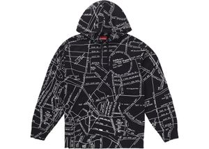 Supreme Gonz Embroidered Map Hoodie Medium for Sale in Miami, FL