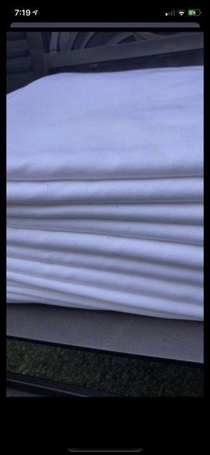 7 manteles blancos rectangulares en muy buenas condiciones no manchas no roturas for Sale in Chula Vista, CA
