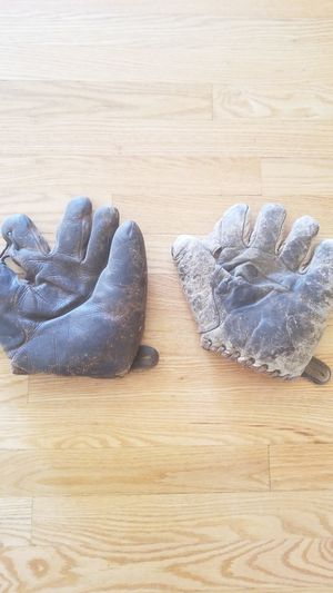 Old baseball gloves for Sale in Vancouver, WA
